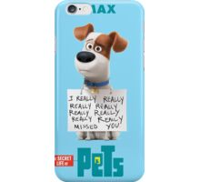 The Secret Life Of Pets Film iPhone Case/Skin