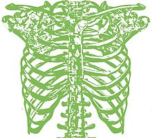 Spinal Tap Green Skeleton T Shirt by popwear