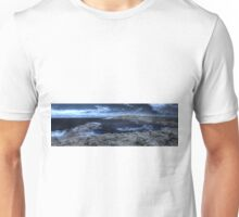 Lowlands beach on a quiet day, IR Pan Unisex T-Shirt