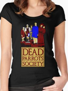 Dead Parrots Society Women's Fitted Scoop T-Shirt