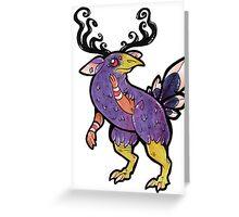 Sporty Bird Man Greeting Card
