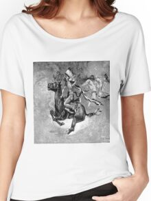 Native American and Horse Women's Relaxed Fit T-Shirt