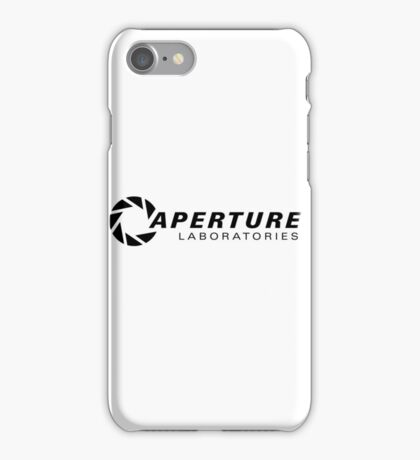 Portal Aperture Science Logo iPhone Case/Skin
