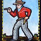 cowboy/gunfighter by kathy archbold