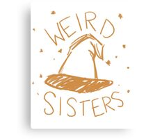 Weird Sisters Harry Potter band Canvas Print