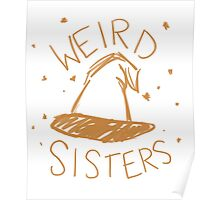 Weird Sisters Harry Potter band Poster