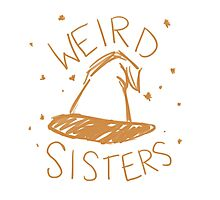 Weird Sisters Harry Potter band Photographic Print