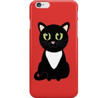 Only One Black and White Cat iPhone Case/Skin