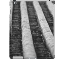 Rain (BW) iPad Case/Skin