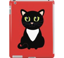 Only One Black and White Cat iPad Case/Skin