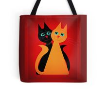 Feline Friends Tote Bag