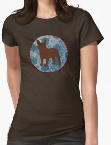 Dog Tee Womens Fitted T-Shirt