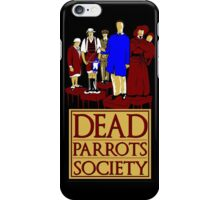 Dead Parrots Society iPhone Case/Skin