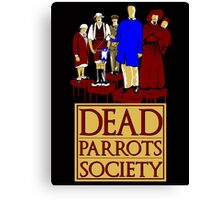 Dead Parrots Society Canvas Print