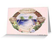 Hammock & Seashells Greeting Card