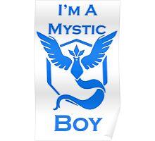 Team Mystic Boy Poster