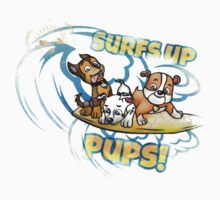 Surfing pups One Piece - Short Sleeve