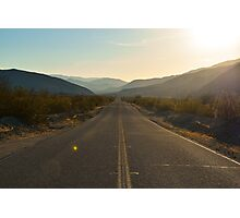 Highway 78, San Diego County, California Photographic Print