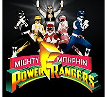 It's Morphin' Time! Photographic Print