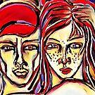 Reciprocal Nurture - Version 2 by Anthea  Slade