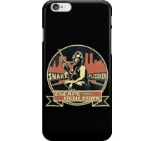 Snake Plissken (Escape from New York) Badge Vintage iPhone Case/Skin