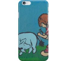 Eeyore loses a tail iPhone Case/Skin