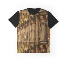 Choir Screen, York Minster Graphic T-Shirt
