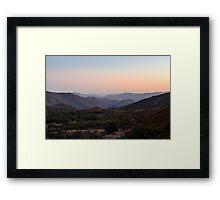 Horsethief Creek, Cleveland National Forest, California Framed Print