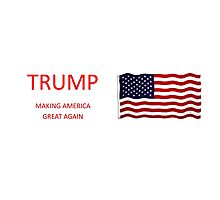 Donald Trump Products Photographic Print