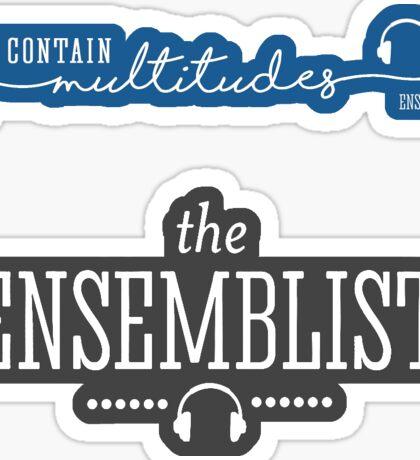 The Ensemblist - Combo Pack! Sticker