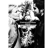 Captain Swan Black and White Photographic Print