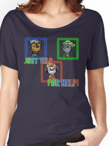 Yelp for help Women's Relaxed Fit T-Shirt