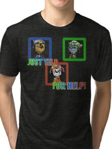 Yelp for help Tri-blend T-Shirt