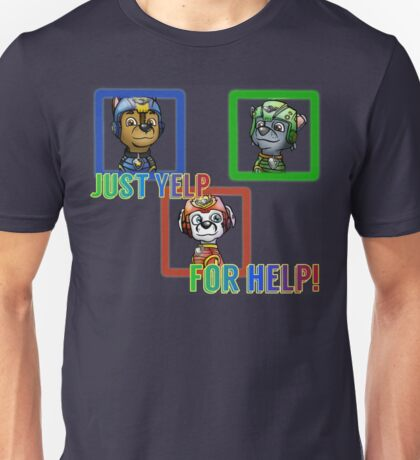 Yelp for help Unisex T-Shirt