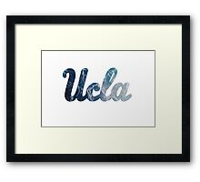 UCLA Water Framed Print
