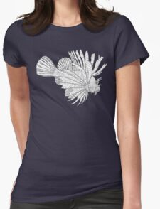 Lionfish Lines Womens Fitted T-Shirt
