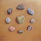 """Stone letters"" by Elena Kolotusha"