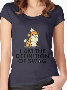Pokemon Swag Women's Fitted Scoop T-Shirt