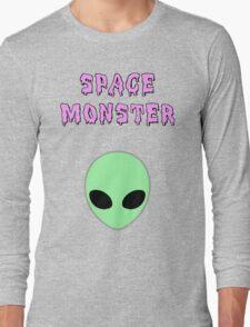 Space Monster Long Sleeve T-Shirt