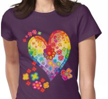 All You Need is Love Womens Fitted T-Shirt
