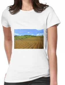Vineyards  Womens Fitted T-Shirt
