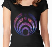 Bassnectar Galaxy Women's Fitted Scoop T-Shirt