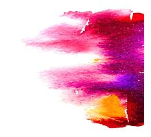 Watercolor dynamic. Photographic Print