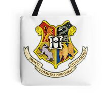 Hogwarts School Of Witchcraft and Wizadry Crest Tote Bag