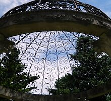 Garden Gazebo - Looking Up! by ctheworld
