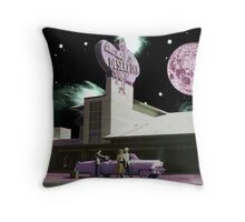 Moon day Throw Pillow