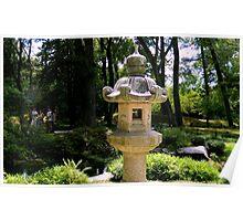 Japanese Garden - Maymont Park Poster