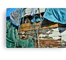 Old 'Boat Stuff' Canvas Print