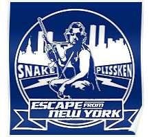 Snake Plissken (Escape from New York) Badge Transparent Poster