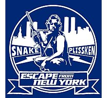Snake Plissken (Escape from New York) Badge Transparent Photographic Print